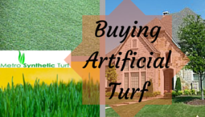 Purchasing Fake Turf